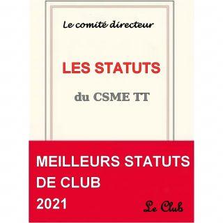 Les statuts du CSM Eaubonne Tennis de Table