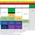 Horaires de la salle du 9 juin au 4 juillet et protocole 7
